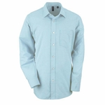 Ashworth Men's Woven Shirt: 60/40 Dobby Blend Grid (7005)