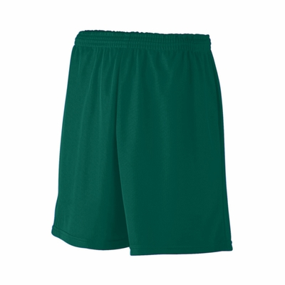 Augusta Sportswear Men's Shorts: 100% Polyester Mini-Mesh 7-Inch League (733)