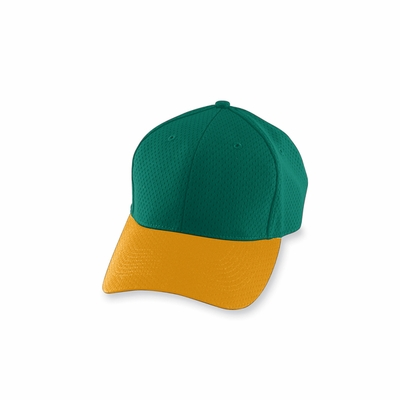 Augusta Sportswear Youth Cap: 100% Polyester Athletic Mesh Low Profile 6-Panel (6236)