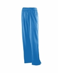Augusta Sportswear Youth Pants: 100% Polyester Solid Brushed Tricot with Side Pockets (723)