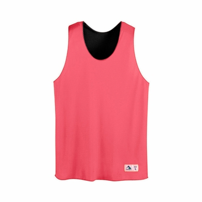 Augusta Sportswear Youth Reversible Tank Top: 100% Polyester Tricot Mesh Reversible (198)