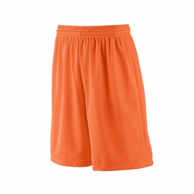Augusta Sportswear Youth Shorts: 100% Polyester Tricot Mesh Longer Length 9-Inch (849)