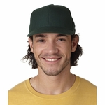 Badger Sport Cap: Pro Wool Solid Adjustable (S132)