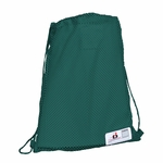 Badger Sport Cinch Bag: 100% Polyester Porthole Mesh B-Back (0101)