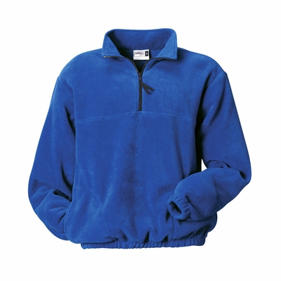 Badger Sport Men's Jacket: 100% Polyester Fleece Pill-Proof 1/4-Zip with Pockets (B2410)