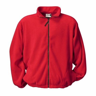 Badger Sport Men's Jacket: 100% Polyester Fleece Pill-Proof Full-Zip with Side Pockets (2411)