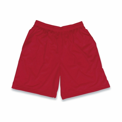 Badger Sport Men's Shorts: 100% Polyester Mesh/Tricot 8-Inch with Pockets (7210)