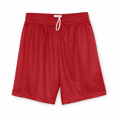Badger Sport Men's Shorts: 100% Polyester Mini-Mesh 7-Inch (7237)