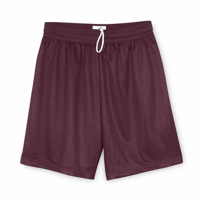 Badger Sport Men's Shorts: 100% Polyester Mini-Mesh 9-Inch (7239)