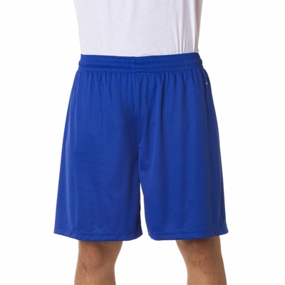 Badger Sport Men's Shorts: 100% Polyester B-Dry Core 7-Inch Performance (4107)
