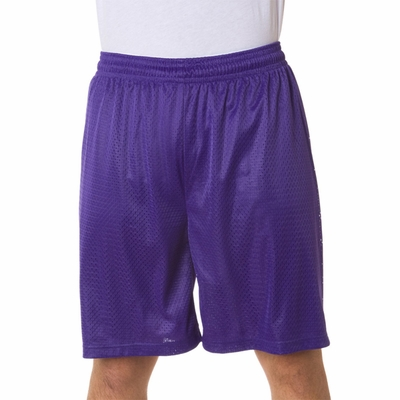 Badger Sport Men's Shorts: 100% Polyester Mesh/Tricot 9-Inch (7209)