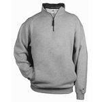 Badger Sport Men's Sweatshirt: Cotton Blend 1/4-Zip Pullover (1286)