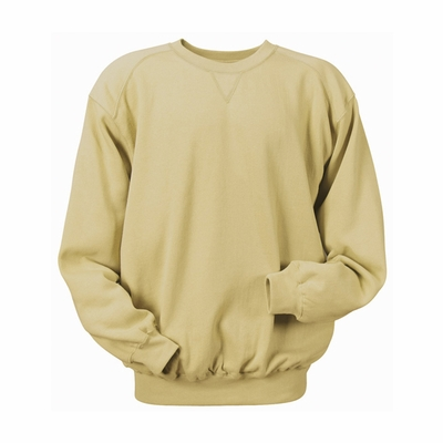 Badger Sport Men's Sweatshirt: Cotton Blend Athletic Cut Crew Neck (1253)