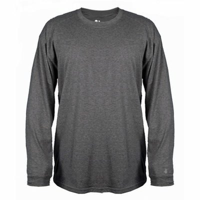 Badger Sport Men's T-Shirt: Cotton Blend Extreme Long Sleeve (4904)