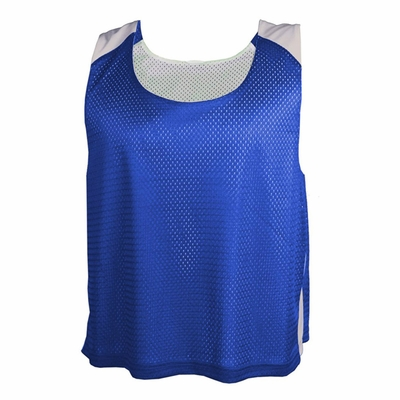 Badger Sport Men's Tank Top: 100% Polyester Mesh Color Block Practice Pennie (9464)