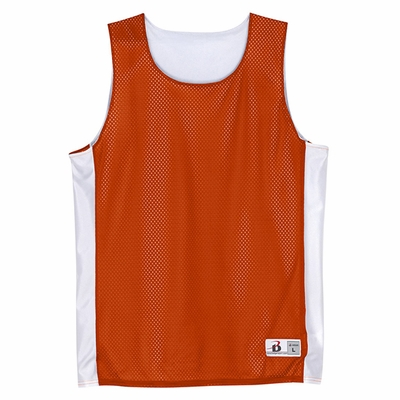 Badger Sport Men's Tank Top: 100% Polyester Mesh/Dazzle Color Block Challenger Reversible (B8559)