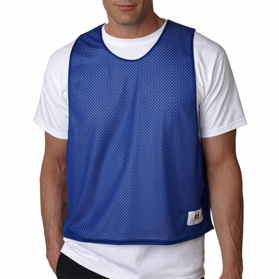 Badger Sport Men's Tank Top: 100% Polyester Double Layer Mesh Lacrosse Reversible (B8560)