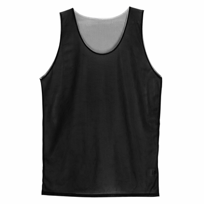 Badger Sport Men's Tank Top: 100% Polyester Mini-Mesh Reversible (B8539)