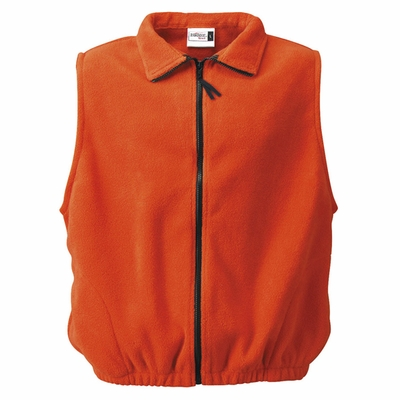 Badger Sport Men's Vest: 100% Polyester Fleece Pill-Proof Full-Zip with Pockets (2412)