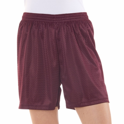 Badger Sport Women's Shorts: 100% Polyester Mesh/Tricot 5-Inch (7216)
