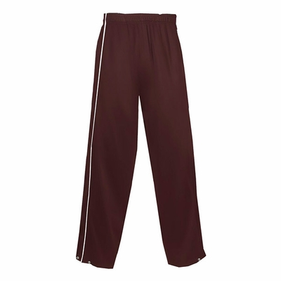 Badger Sport Women's Sweatpants: 100% Polyester Brushed Tricot Razor Long (7910)