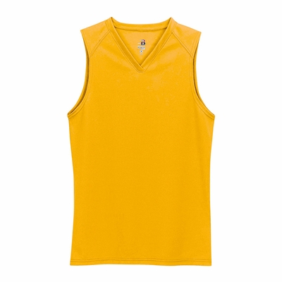Badger Sport Women's T-Shirt: 100% Polyester Sleeveless (4163)