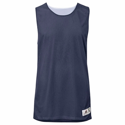 Badger Sport Women's Tank Top: 100% Polyester Mesh/Dazzle Color Block Challenger Reversible (B8959)