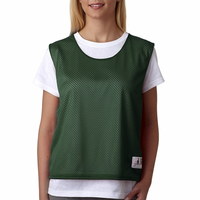 Badger Sport Women's Tank Top: 100% Polyester Double Layer Mesh Lacrosse Reversible (B8960)