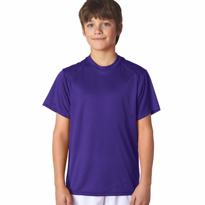 Badger Sport Youth T-Shirt: 100% Polyester B-Core Performance (2120)