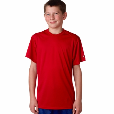 Badger Sport Youth T-Shirt: 100% Polyester Performance B-Tech (2820)