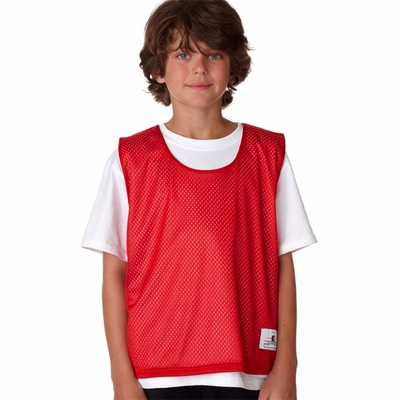 Badger Sport Youth Tank Top: 100% Polyester Double Layer Mesh Lacrosse Reversible (2560)