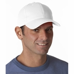 Bayside Cap: 100% Cotton Chino Twill Constructed (3660)