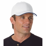 Bayside Cap: 100% Cotton Constructed Brush Twill Sandwich (3621)