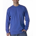 Bayside Men's T-Shirt: 100% Cotton Long-Sleeve (6100)