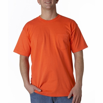 Bayside Men's T-Shirt: 100% Cotton Union Made Pocket (3015)