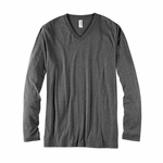 Bella + Canvas Men's Jersey Long-Sleeve V-Neck T-Shirt: (3425)