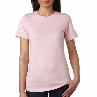 Bella Women's T-Shirt: 100% Cotton Missy Fit Crew Neck Jersey (B6400)