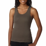 Bella Women's Tank Top: 100% Cotton1 X 1 Rib (1080)