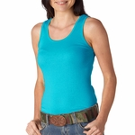 Bella Women's Tank Top: 100% Cotton2 X 1 Rib (4000)