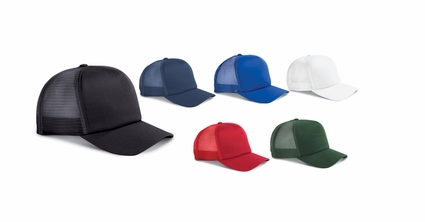 Big Accessories Trucker Cap: 100% Cotton 5-Panel Twill (BX010)
