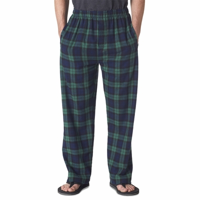 Boxercraft Men's Pajama Pants: 100% Cotton Flannel Classic (F24)