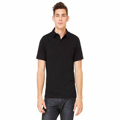 Canvas Men's Polo Shirt: (3802)