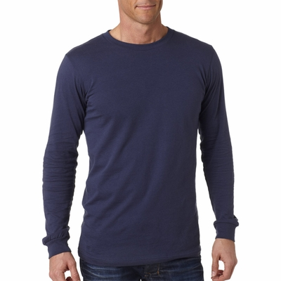 Canvas Men's T-Shirt: 100% Cotton Filmore Long-Sleeve (3501)