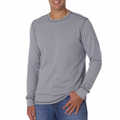 Canvas Men's T-Shirt: Lombard Long-Sleeve Thermal (3500)