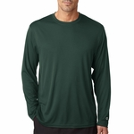 Champion Men's 4 oz. Double Dry® Performance Long-Sleeve T-Shirt: (CW26)