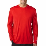 Champion Men's 4 oz. Double Dry� Performance Long-Sleeve T-Shirt: (CW26)