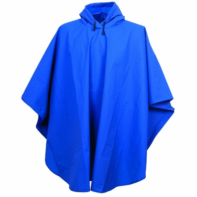 Charles River Adult Rain Poncho: Waterproof Packable Hooded (9207)