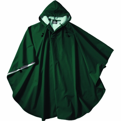 Charles River Adult Rain Poncho: Waterproof Packable with Snap Closure (9709)