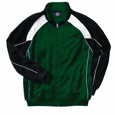 Charles River Boys Jacket: 100% Polyester  Piped Color Block (8984)