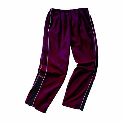 Charles River Boys Track Pants: 100% Polyester  Piped  (8985)